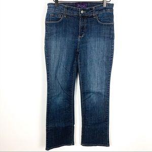 NYDJ | Hi Rise Bootcut Darkwash Jeans